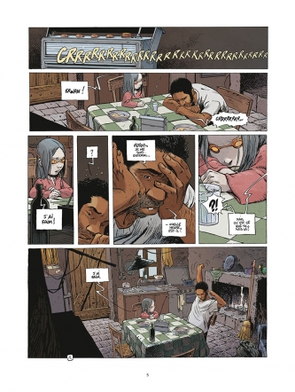 Le grand mort tome 5 - panique - 2
