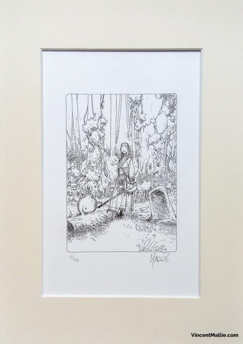 prêtresse des bois B